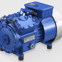Semi-hermetic compressor HA Air-cooled, 4 cylindres, Halbhermetischer Verdichter luftgekühlt, 4 Zylinder
